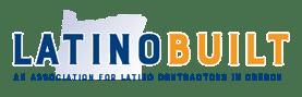 LatinoBuilt Logo + tag