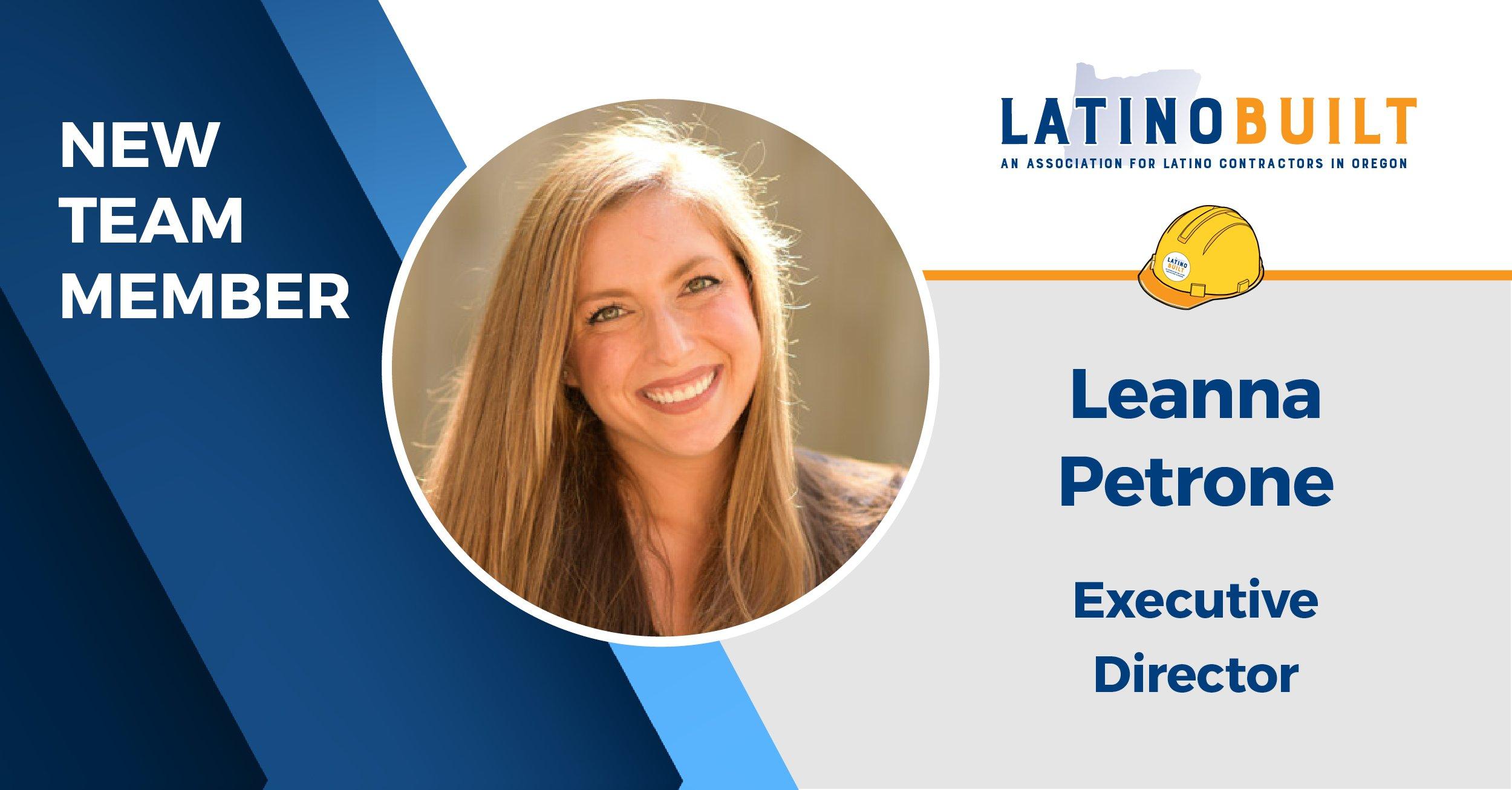 New Exec. Director Board Leanna Petrone