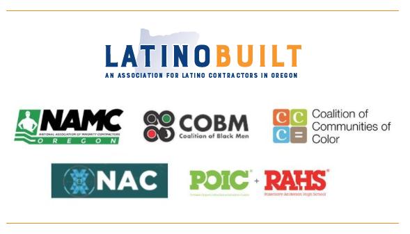 LatnoBuilt, NAMC Logos