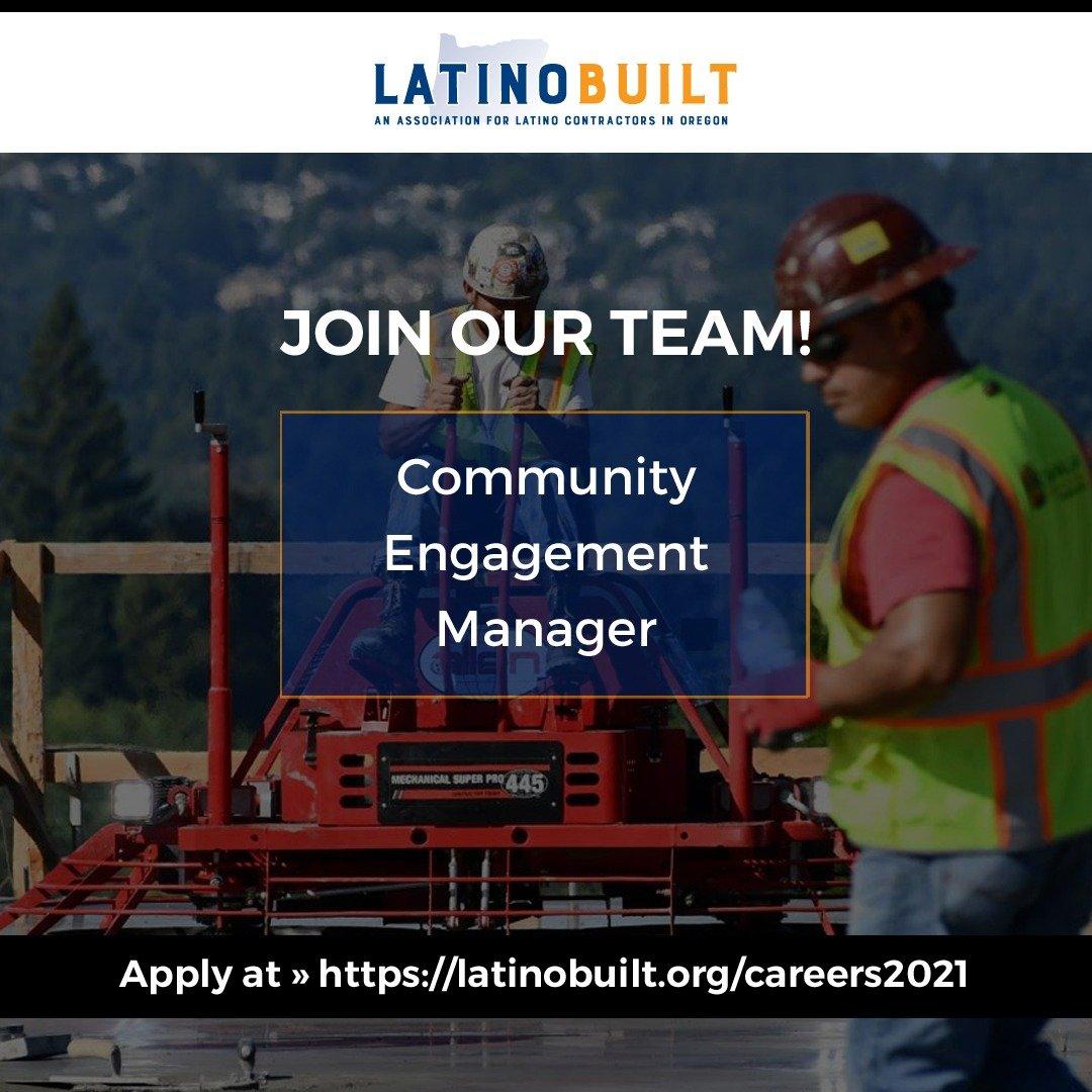 Work with Us at LatinoBuilt